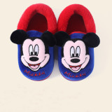 Toddlers Kids Mickey Mouse Warm Winter Home House Slippers Shoes