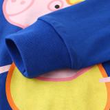 Kids Halloween Peppa Pig George Pajamas Sleepwear Set Long-sleeve Cotton Pjs