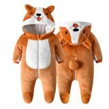 Baby Corgi Huskie Cute Dog Onesie Kigurumi Pajamas Animal Costumes for Unisex Babys