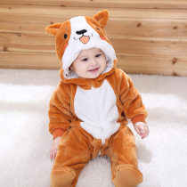 Baby Corgi Huskie Cute Dog Onesie Kigurumi Pajamas Animal Costumes for Unisex Babys