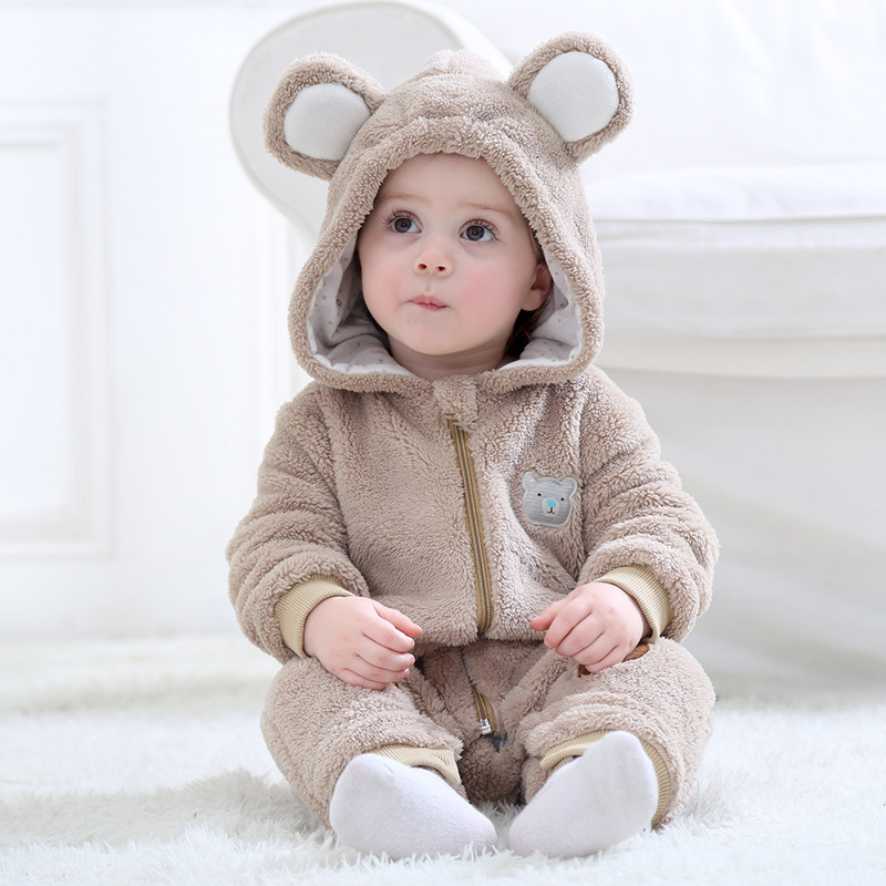 Baby Bear Onesie Kigurumi Pajamas Animal Costumes for Unisex Babys