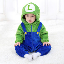 Baby Super Mario Onesie Kigurumi Pajamas Animal Costumes for Unisex Babys
