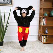 Kids Mickey Onesie Kigurumi Pajamas Animal Costumes for Unisex Children