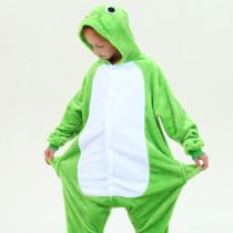 Kids Green Frog Onesie Kigurumi Pajamas Animal Costumes for Unisex Children