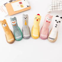 Baby Toddlers Girls Boy Cute Animals Non-Skid Indoor Winter Warm Shoes Socks