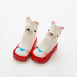 Baby Toddlers Girls Boy Cute Bear Non-Skid Indoor Winter Warm Shoes Socks
