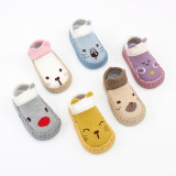 Baby Toddlers Girls Boy Cute Animal Non-Skid Indoor Winter Warm Short Shoes Socks