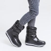 Kid Girl Add Wool Thicken Fluff Winter Warm Snow Boots
