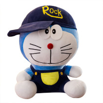 Blue Doraemon Soft Stuffed Plush Animal Doll for Kids Gift
