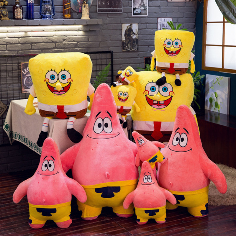 SpongeBob Soft Stuffed Plush Animal Doll for Kids Gift