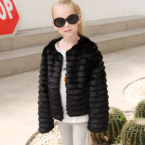 Toddler Kids Girl Faux Fur Thick Warm Coats Outerwears