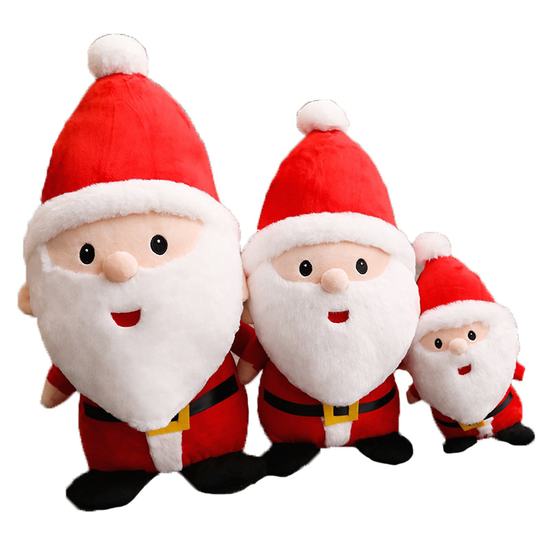 Santa Claus Christmas Soft Stuffed Plush Doll for Kids Gift