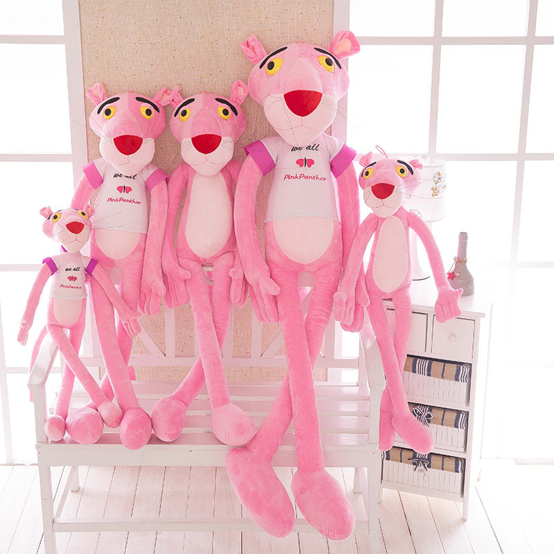 Pink Panther Soft Stuffed Plush Animal Doll for Kids Gift