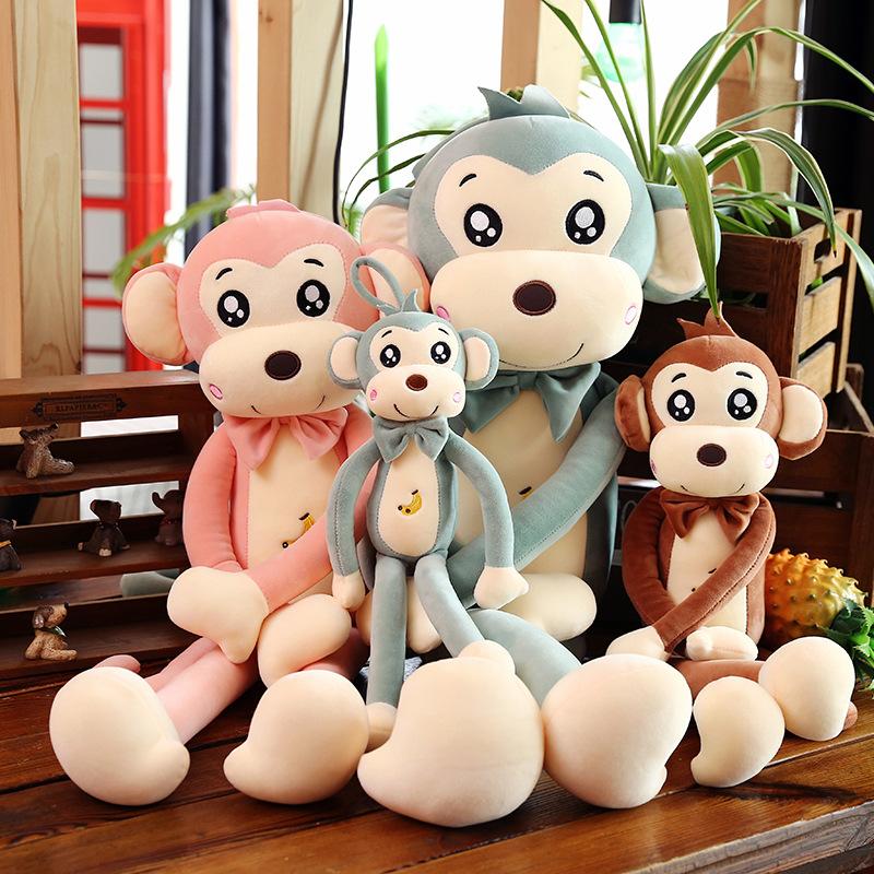 Monkey Soft Stuffed Plush Animal Doll for Kids Gift