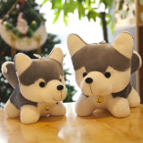 Huskie Dog Soft Stuffed Plush Animal Doll for Kids Gift