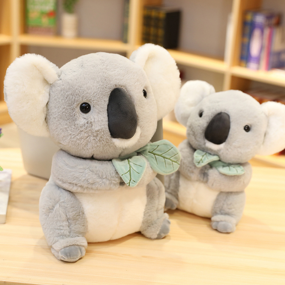 Grey Koala Soft Stuffed Plush Animal Doll for Kids Gift