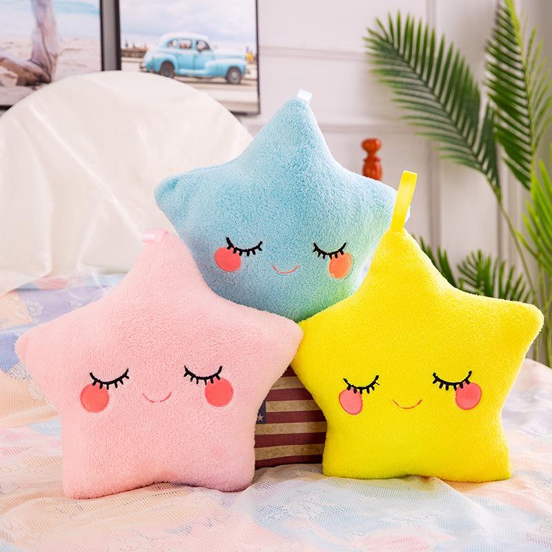Comfort Pillow Star Soft Stuffed Plush Doll for Kids Gift