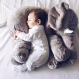Comfort Pillow Elephant Soft Stuffed Plush Animal Doll for Kids Gift