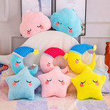 Comfort Pillow Star Soft Stuffed Plush Doll for Kids Gift