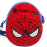 Superhero Spider Man Super Man Circle Crossbody Shoulder Bags for Toddlers Kids