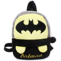 Kindergarten School Backpack Grey Batman School Bag For Toddlers Kids