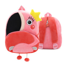 Kindergarten School Backpack Pink Flamingo Animal School Bag For Toddlers Kids