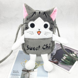 Hello Kitty And Doraemon Sweet Cat Fashion Crossbody Shoulder Bags for Toddlers Kids