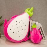 Dragon Fruit Soft Stuffed Plush Fruit Doll for Kids Gift