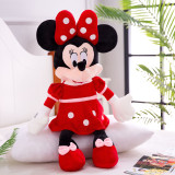Mickey and Minne Mouse Soft Stuffed Plush Animal Doll for Kids Gift