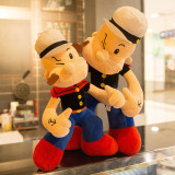 Popeye Soft Stuffed Plush Animal Doll for Kids Gift
