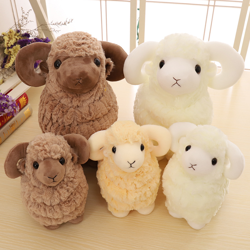 Sheep Soft Stuffed Plush Animal Doll for Kids Gift