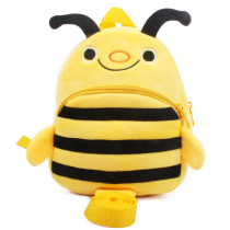Kindergarten School Backpack Yellow Bee School Bag For Toddlers Kids