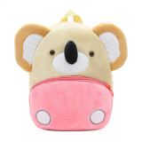Kindergarten School Backpack Apricot Koala Animal School Bag For Toddlers Kids