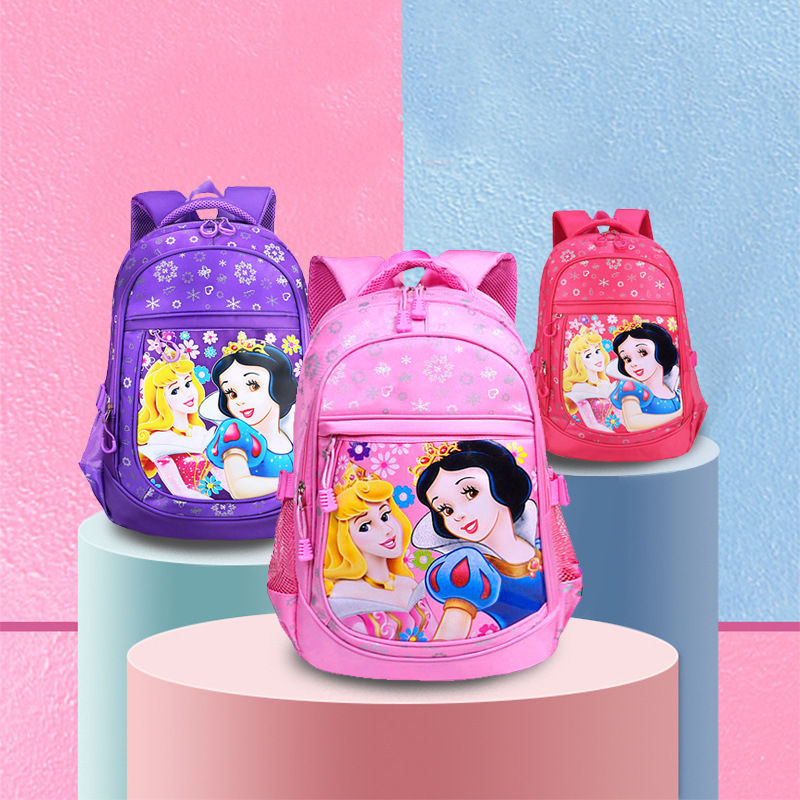 Kindergarten School Backpack Snow White School Bag For Kids