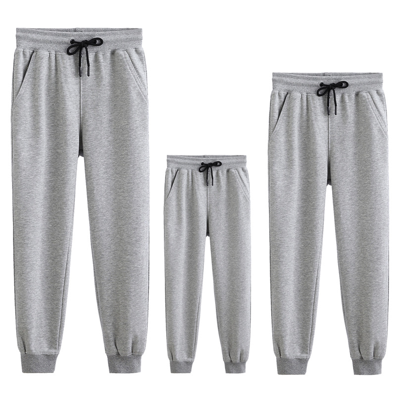 Matching Family Sport Jogger Pants Bottoms