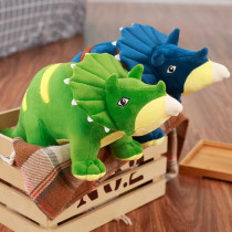 Jurassic Triceratops Dinosaur Soft Stuffed Plush Animal Doll for Kids Gift