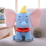 Blue Dumbo the Flying Elephant Soft Stuffed Plush Fruit Doll for Kids Gift