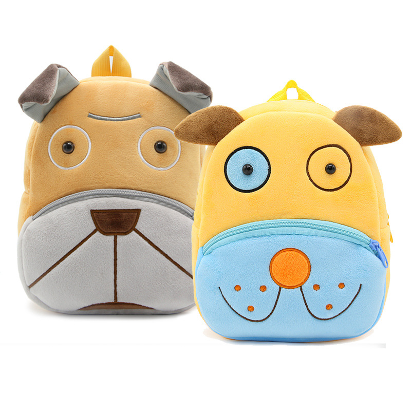 Kindergarten School Backpack Cute Dog Animal School Bag For Toddlers Kids