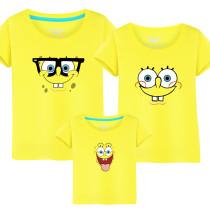 Matching Family Prints Simpson Famliy T-shirts Top