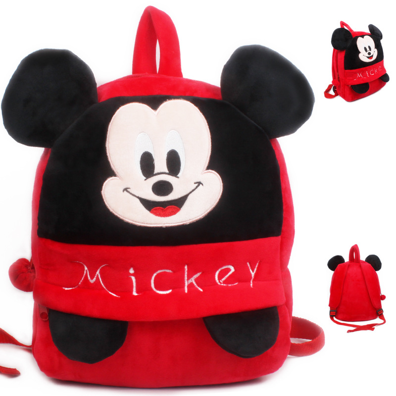 Kindergarten School Backpack Mickey Mouse School Bag For Toddlers Kids