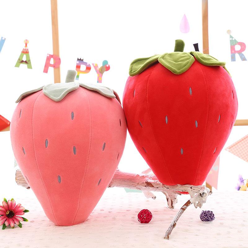 Fruit Strawberry Soft Stuffed Plush Fruit Doll for Kids Gift