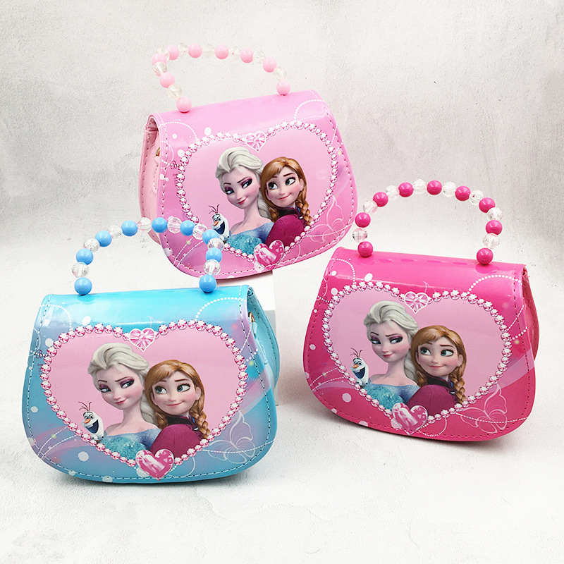 Frozen Princess Fashion Crossbody Shoulder Bags for Toddlers Kids Girl
