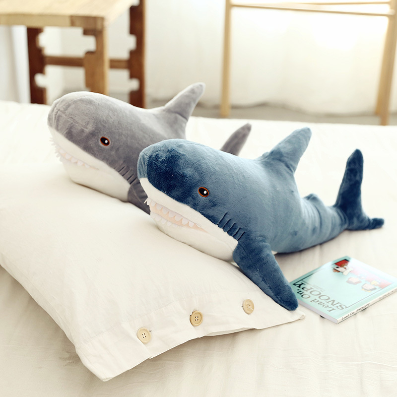Shark Soft Stuffed Plush Animal Doll for Kids Gift