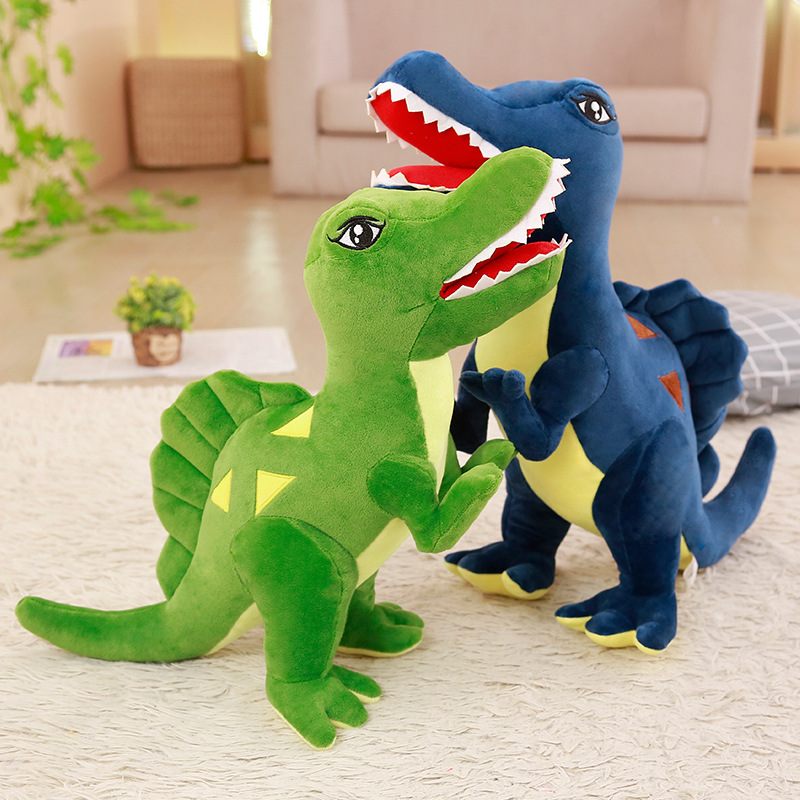 Jurassic Centrosaurus Dinosaur Soft Stuffed Plush Animal Doll for Kids Gift
