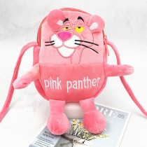 Pink Panther Fashion Crossbody Shoulder Bags for Toddlers Kids