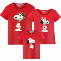Matching Family Prints Snoop Dog Famliy T-shirts Top