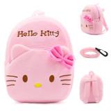 Kindergarten School Backpack Pink Hello Kitty School Bag For Toddlers Kids