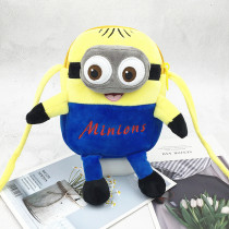 Yellow Minions And Stitch Fashion Crossbody Shoulder Bags for Toddlers Kids