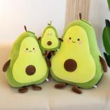 Green Avocado Soft Stuffed Plush Fruit Doll for Kids Gift