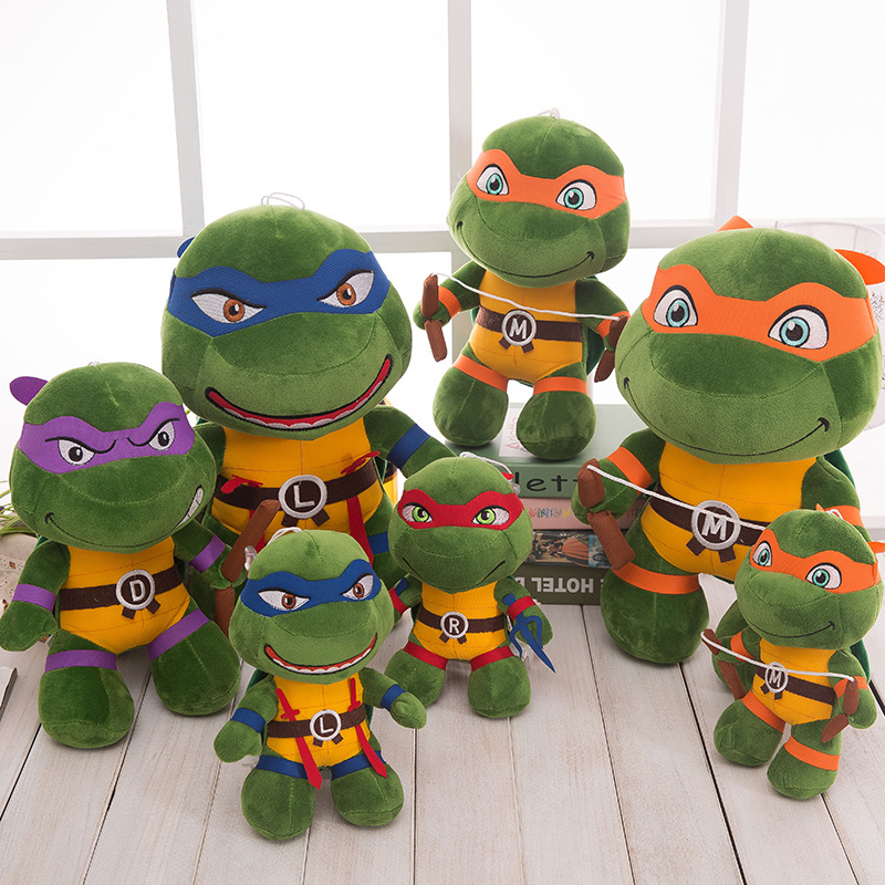 Teenage Mutant Ninja Turtles Soft Stuffed Plush Animal Doll for Kids Gift